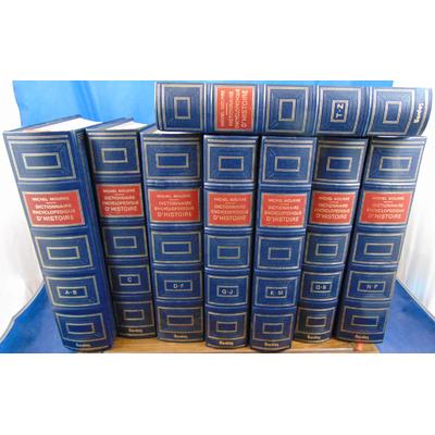 Mourre Michel : dictionnaire encyclopédique d'histoire. 8 volumes...