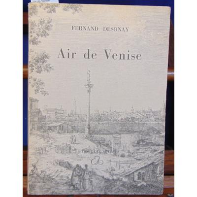 Desonay  : Air de Venise...