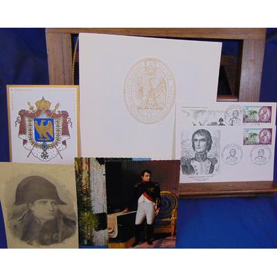 : Plaquette timbre bicentenaire de Napoléon 1er jour 1969...