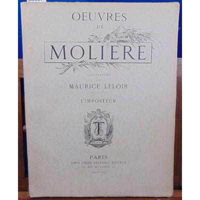 Molière  : L'imposteur Illustrations de Maurice Leloir...