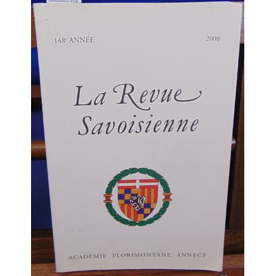 : La revue Savoisienne 2008...
