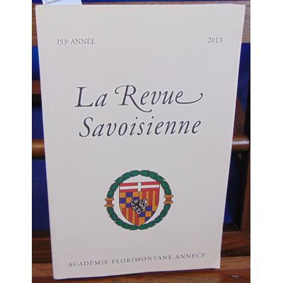 : La revue Savoisienne 2013...