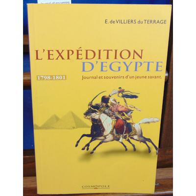 Bocage Edouard de : Journal et souvenirs sur l'expédition d'Egypte : Récit d'un savant engagé aux cotés de Bon