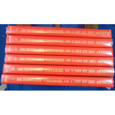: Dictionnaire universel de l'art et des artistes...