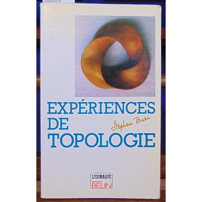 Barr Stephen : Expérience de topologie...