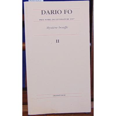 Fo Dario : Mystere bouffe II jonglerie populaire...
