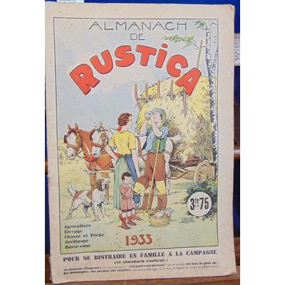 : Almanach de Rustica 1933...