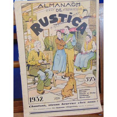 : Almanach de Rustica 1932...