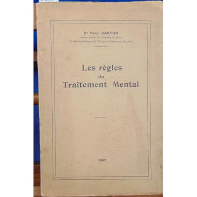 Carton Paul : Les règles du traitement mental...