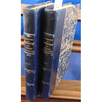 Mornet Daniel : histoire de la littérature et de la pensée Française. 2 volumes...