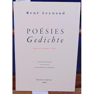 Leynaud René : Poésies Gédichte...