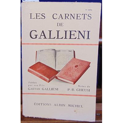 : Les carnets de Gallieni...