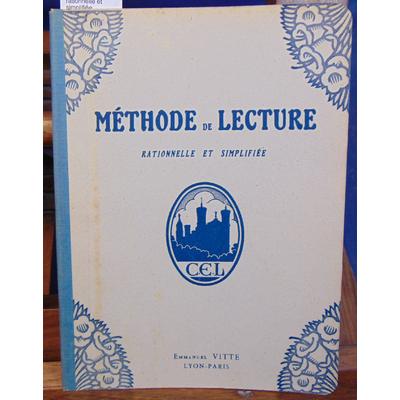 : Méthode de lecture rationnelle et simplifiée...
