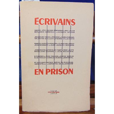 : écrivains en Prison in memoriam. Poèmes des absents. Sortis des liens...