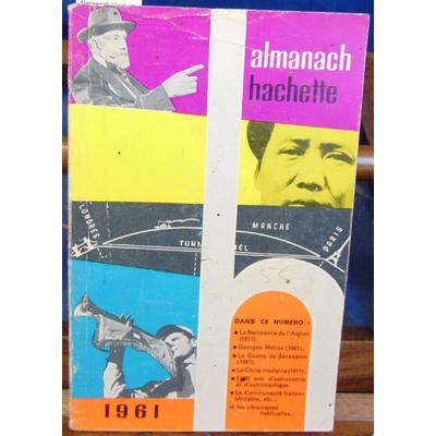 : Almanach Hachette 1961...