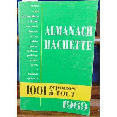 : Almanach Hachette 1969...