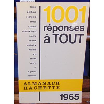 : Almanach Hachette 1965...