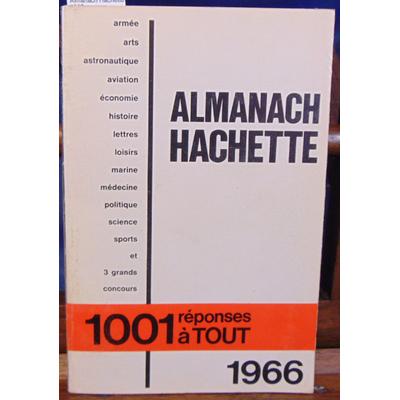: Almanach Hachette 1966...