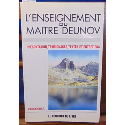 Deunov  : L'enseignement du maitre Deunov...
