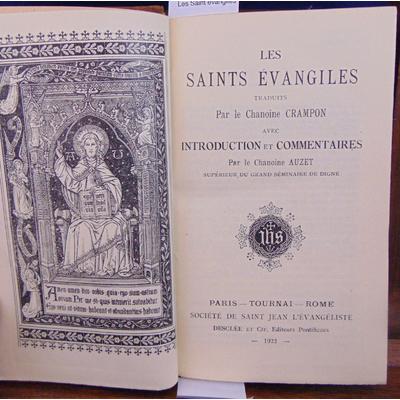 Crampon  : Les Saint évangiles...