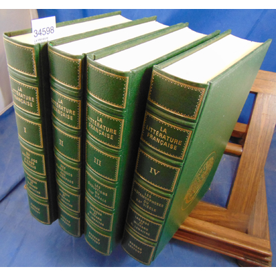 Lemaitre Henri : La littérature Française (4 volumes)...