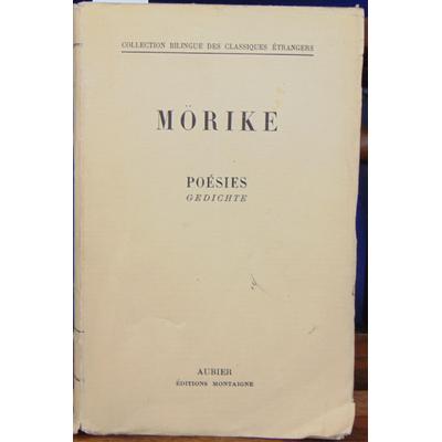 Morike  : Poésie Gedichte...