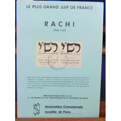 : Le plus grand juif de France Rachi...