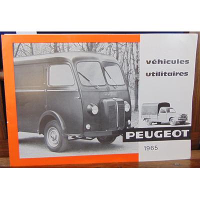 : Brochure peugeot utilitaires 1965...
