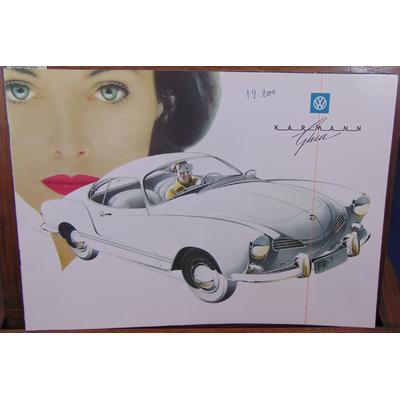 : Brochure Volkswagen Karmann Ghia...