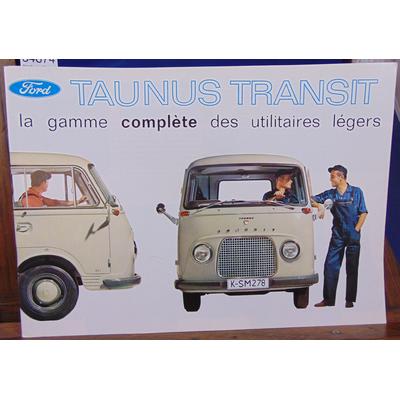 : Brochure utilitaire Ford Taunus Transit...