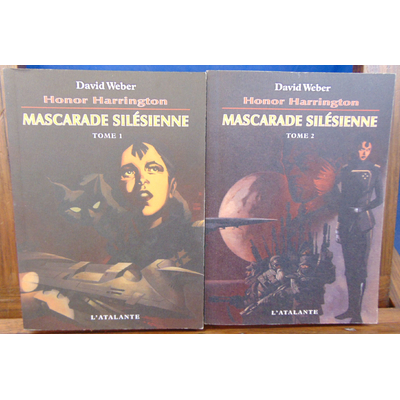Weber  : H. Harrington. Mascarade Silésienne. tome 1 et  2...