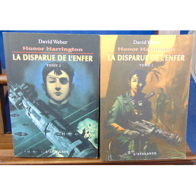 Weber  : H. Harrington.  La disparue de l'enfer. tome 1 et  2...