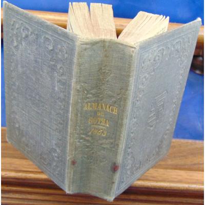 : Almanach de Gotha pour l'année 1853...
