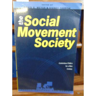 Tarrow Sidney : The Social Movement Society (Anglais)...