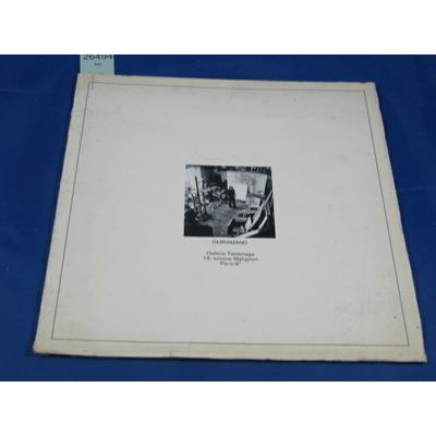 cabanne : guiramand (exposition 1972 ) galerie Tamenaga...