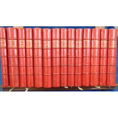 : Collection 14 volumes oeuvres antiques. Quantin 1878- 1889...
