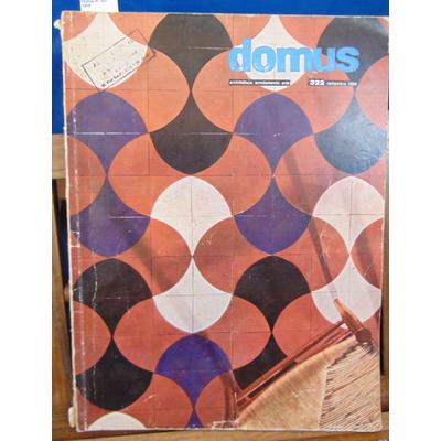 : Domus N° 322, 1956...