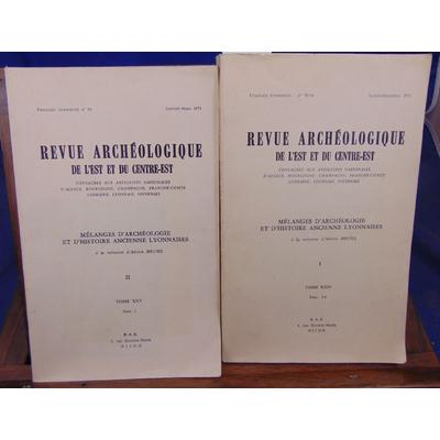 Bruhl  : Mélanges d'archéologie et d'histoire ancienne Lyonnaises...