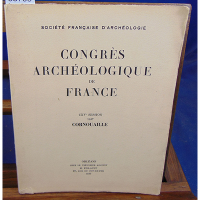 : Congres archéologique de France CXV session Cornouaille...