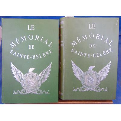 La Cases Le Comte : Le mémorial de Sainte-Helene illustré de 240 dessins en couleurs par L. bombled...