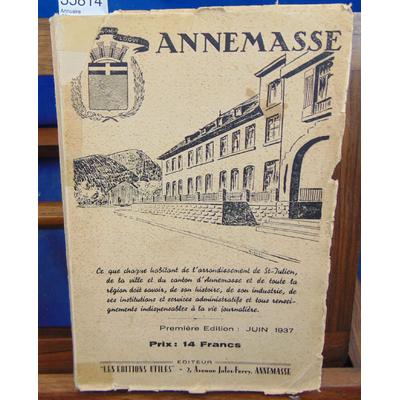 : Annuaire d'Annemasse 1937...