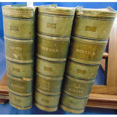 Bergier  : Dictionnaire de théologie...