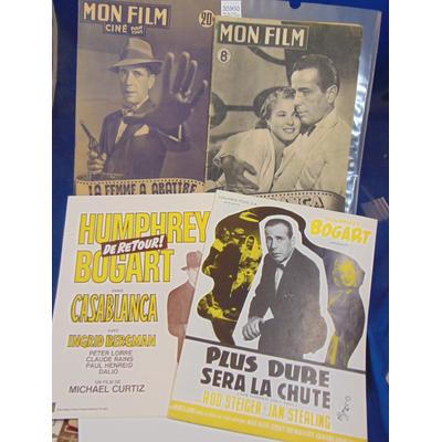 : 2 n° Mon film  N°55 Casablanca Bogart 13 aout 1947  / La femme à abbatre...