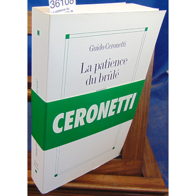 Ceronetti Guido : La patience du brûlé : Carnets de voyage, 1983-1987...