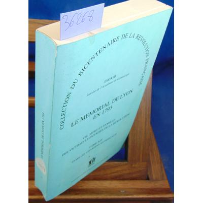 : Mémorial de Lyon en 1793 Tome 14 Familles Chardiny et Péricaud...