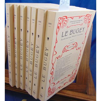 : Le Bugey Société scientifique  N° 90 91 92 93 94 95 96...