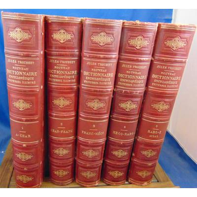 Trousset  : Nouveau dictionnaire encyclopédique. 5 volumes...