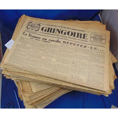 Béraud  : lot de 60 journeaux Gringoire...