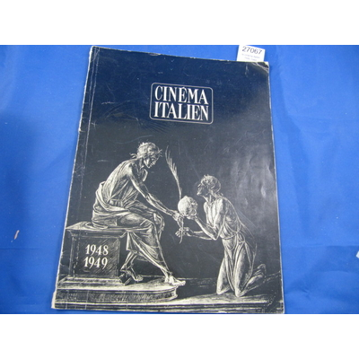 collectif : le cinéma italien 1948-1949...