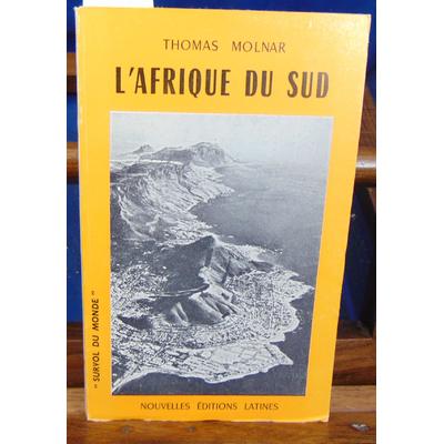 Molnard Thomas : l'afrique du sud...